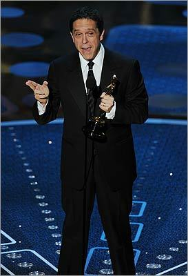Director Lee Unkrich accepted the award for best animated feature film for 'Toy Story 3.'