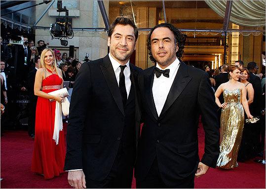 Alejandro Gonzales Inarritu and Javier Bardem