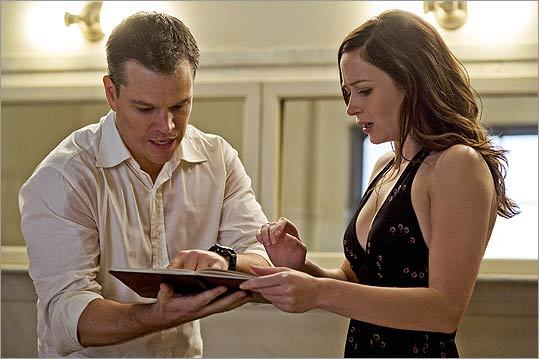 Here's a look at where Cambridge-bred actor Matt Damon's career began and what brought him to where he is today &#151; from 'Good Will Hunting' to the 'Bourne' series to his latest roles. Pictured: Damon currently stars with Emily Blunt in the romantic thriller 'The Adjustment Bureau.'