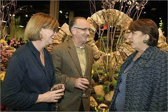 Boston Flower and Garden Show preview party