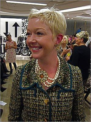Mix brooches with chokers for impact, says Daniels.