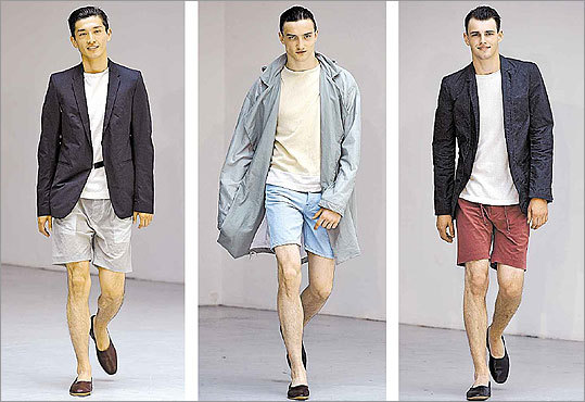 Short ensembles from Petar Petrov's spring/summer 2011 collection at Paris Fashion Week.