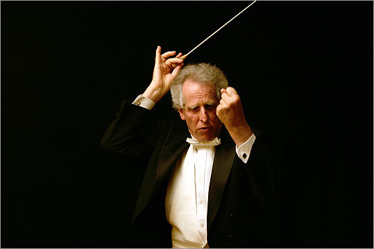 Boston Philharmonic conductor Benjamin Zander.