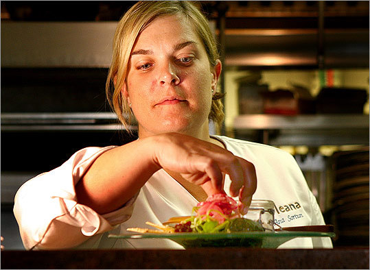 Ana Sortun, chef-owner of Oleana.