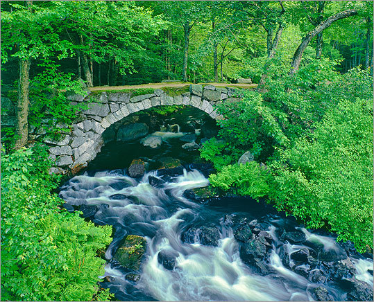 Hillsborough, N.H. The five stone bridges in Hillsborough, built without mortar by Scotch-Irish immigrants in the mid-19th century, are true engineering marvels. The Contoocook River is known for its Class III and IV rapids. Complete details and more activities in New Hampshire