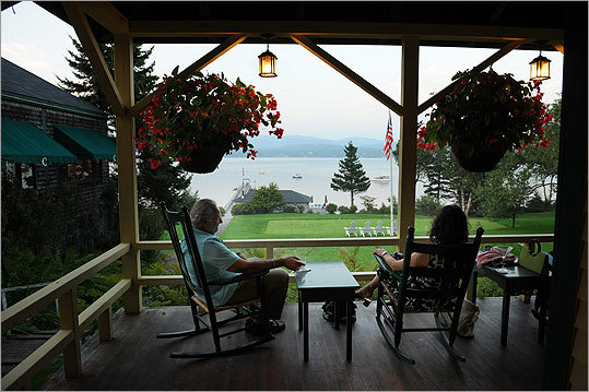 Southwest Harbor, Maine The Claremont Hotel has croquet courts on the lawn and rocking chairs on the wraparound porch for whiling away non-Acadia National Park days. Complete details and more activities in Maine