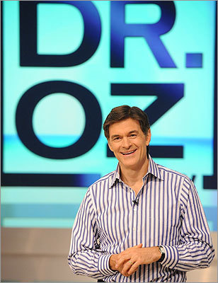 If you miss the medecine... 'The Dr. Oz Show' (5 p.m., weekdays, WFXT, Ch. 25) Oprah's favorite cardiac surgeon shows you how to get and stay fit, eat right, and take care of your mind and body.