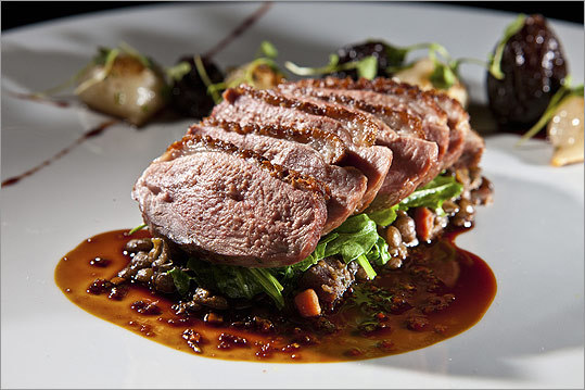 DEUXAVE Substantive style: Choose the Long Island duck at Deuxave or ...