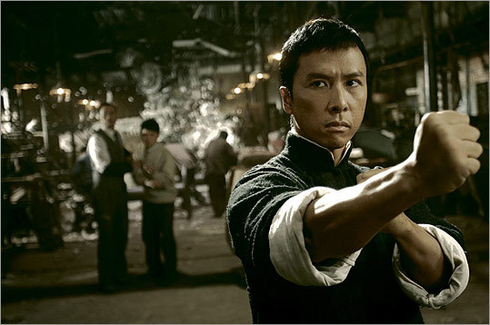 Donnie in 2008's 'Ip Man,' the movie that made him a superstar.