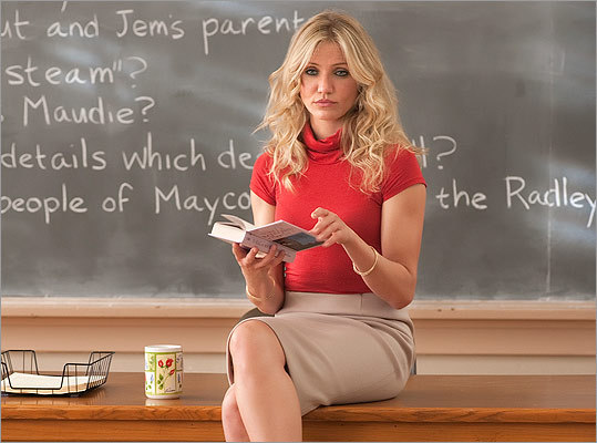 Get your reading, writing, and 'rithmetic right, and you can win an Oscar (or at least got nominated). In honor of Cameron Diaz's new 'Bad Teacher,' who's not the sort of instructor pupils give apples to, take a look back at some famous movie instructors and how their performances made the grade. — Mark Feeney, Globe Staff