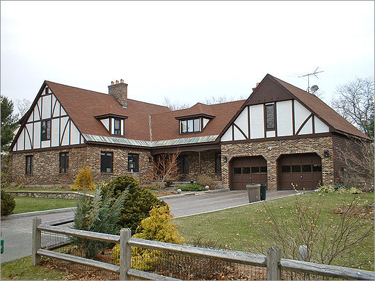"From drab: . . . A 1970s-era ""pseudo-Tudor"" in Andover looked dated, says architect Lawrence Reeves of Reeves Design Associates."