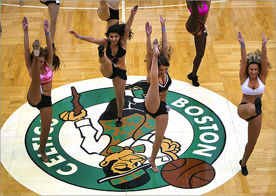 Dozens of women auditioned on June 25 to become Boston Celtics Dancers for the 2011-2012 season. The tryout included dancing to a stylized jazz routine combined with hip-hop at the team's practice facility in Waltham.