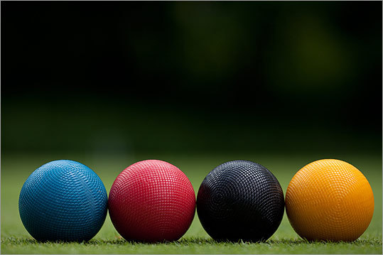 The Berkshire Invitational is widely considered one of the top croquet tournaments in the Northeast. It's been played every June for the past 16 years at the Lenox Croquet Club.