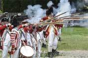 Failed Red Coats maneuver re-enacted