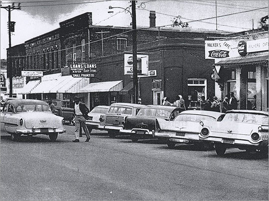 Walker's Cafe: The restaurant where Reeb ate shortly before he was attacked, as it looked in 1965.
