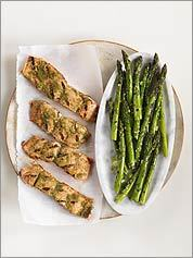 GET FIRED UP Honey, fresh cilantro, and ground coriander complement grilled salmon. Try asparagus on the side.