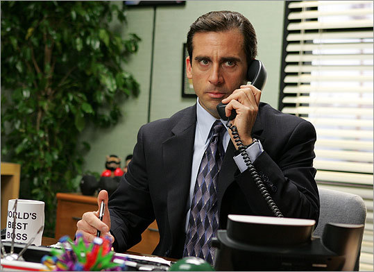 'The Office': Carell played Dunder Mifflin's toweringly clueless boss Michael Scott on this hit TV series.