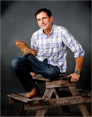 Kickin' back: Steve Carell is relaxing in Marshfield. The star of broad comedies ('The 40-Year-Old Virgin,' 'Get Smart'), fluky indie films ('Little Miss Sunshine,' 'Dan in Real Life'), and one beloved TV show ('The Office') heads East every year to take his summer leisure in this sleepy South Shore town.