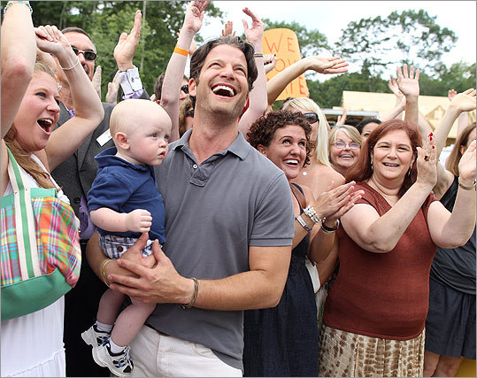 "Berkus is no stranger to these parts. He attended Cushing Academy in Ashburnham. The ""Nate Berkus Show'' on Monica's house will air Sept. 27 on WCVB-TV (Channel 5)."