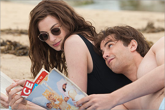 Anne Hathaway (left) has shown audiences her wide range of acting abilities through the years — from 'The Princess Diaries' to 'Brokeback Mountain' to 'The Devil Wears Prada' to 'Rachel Getting Married' to 'Love and Other Drugs.' Now, she co-stars with Jim Sturgess (right) in the film, 'One Day,' about a special friendship and on-and-off relationship. Take a look at the movie roles and appearances that have made Hathaway a household name.