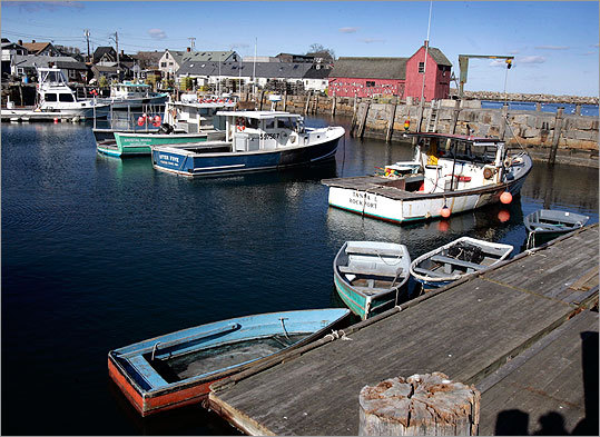 OFFSHORE July 22, 2003 Magnitude: 3.6 This East Coast quake in 2003 occurred in the Atlantic Ocean near the Massachusetts coast and was reportedly felt on Cape Ann. Pictured: Rockport Harbor on Cape Ann.