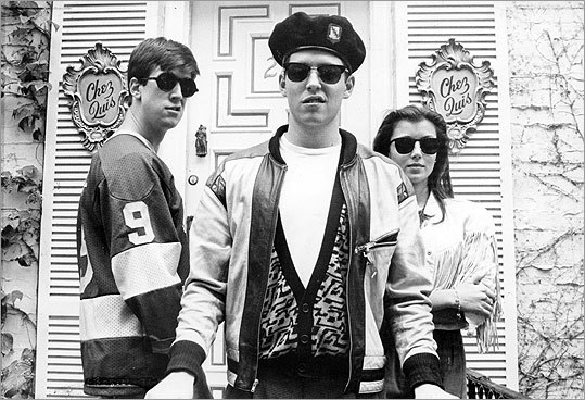 Matthew Broderick (center, with Alan Ruck and Mia Sara) makes being the black sheep look cool in the classic 1986 comedy 'Ferris Bueller's Day Off.' While his serious but cold sister Jeanie (played by Jennifer Grey) smolders over his antics, Ferris runs wild through Chicago on a cleverly-planned day off from school.