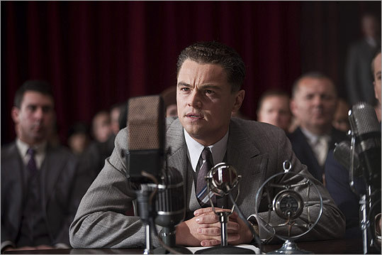 """J. Edgar We know what you're thinking. Leonardo DiCaprio as the legendary head of the FBI? Maybe that woman who plays the gym teacher on """"Glee,'' but Leo ? On the other hand, Clint Eastwood's directing, and if there's anything we've learned over the decades, it's to trust in Clint. The script by Dustin Lance Black (""""Milk'') is said to focus on Hoover's early successes and private dramas. Armie Hammer - the Winklevi of """"The Social Network'' - plays Hoover's very best pal Clyde Tolson. Out: Nov. 9"""