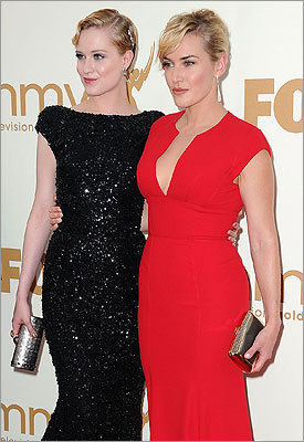 Evan Rachel Wood and Kate Winslet