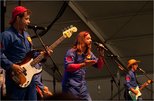 The Imagination Movers performed on the Good Kids Stage.