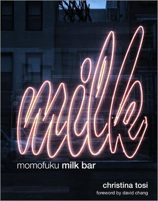"BAKE ""MOMOFUKU MILK BAR'' BY CHRISTINA TOSI In 2009, the cookbook ""Momofuku'' featured savory dishes from David Chang's New York restaurants. But that didn't help the legions obsessed with Momofuku Milk Bar pastry chef Christina Tosi's crack pie and cereal milk ice cream. This book fills that void. Let the compost cookie baking begin. (For the uninitiated, they contain pretzels, potato chips, butterscotch, chocolate chips, and more.) (Clarkson Potter, $35)"