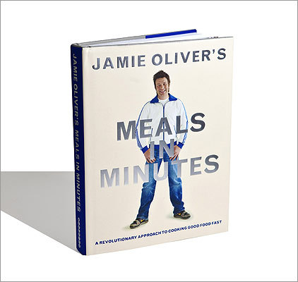 "HOME STYLE ALSO NOTABLE: ""Home Cooking With Jean-Georges: My Favorite Simple Recipes'' by Jean-Georges Vongerichten with Genevieve Ko; ""Jamie Oliver's Meals in Minutes'' by Jamie Oliver (pictured); ""Molto Batali: Simple Family Meals From My Home to Yours'' by Mario Batali."