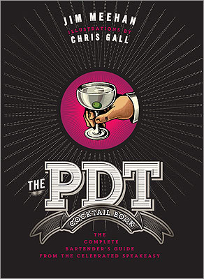 "SHAKE ""THE PDT COCKTAIL BOOK: THE COMPLETE BARTENDER'S GUIDE FROM THE CELEBRATED SPEAKEASY'' BY JIM MEEHAN New York's PDT helped revive the speakeasy-style bar. (The initials stand for ""Please don't tell,'' but it is a terribly kept secret.) Now renowned mixologist Meehan collects recipes for drinks such as the Aperol Spritz, 100 Year Punch, and the Corpse Reviver No. 2. (Sterling, $24.95)"