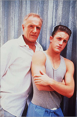 Long after James Caan played tough guy Sonny in 'The Godfather' and long before Scott Caan starred as Scott Lavin on 'Entourage,' the father and son made 1995's 'A Boy Called Hate' (pictured). In 2009, they teamed up again to play a father and son in 'Mercy.'