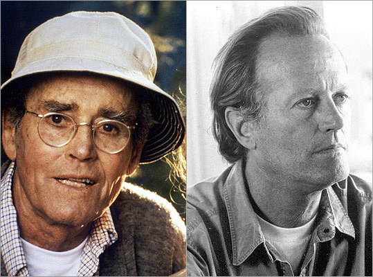 Another father-son on-screen pairing that took awhile to come to fruition was Henry Fonda (left) and his son, Peter. A decade after 'Easy Rider' made Peter a household name, he directed and starred in 1979's 'Wanda Nevada,' casting his father as a prospector.