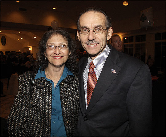 Oct. 6 in Quincy From left: Domenica Coughlin and her husband, Quincy City Councilor Kevin Coughlin.
