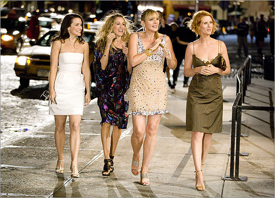 Sex and the City: The Movie Why let the guys have all the fun?