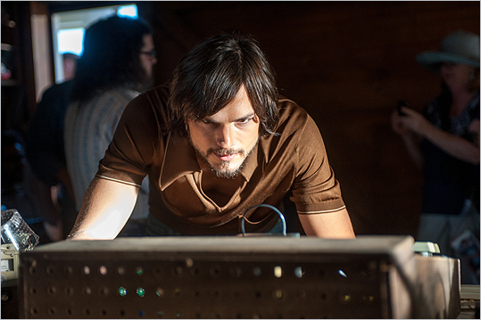 In the new film ' Jobs ,' Ashton Kutcher attempts to fill the shoes of the late founder of Apple, Steve Jobs. The movie has us wondering: Even with makeup and Hollywood magic, does Kutcher look right for the role? Take a look at some other actors who have taken on notable subjects and vote to tell us whether they look the part.