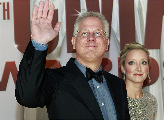 Commentator Glenn Beck and his wife, Tania.