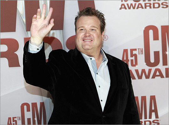 'Modern Family' actor Eric Stonestreet was a surprise appearance on the red carpet. He presented the night's first award.