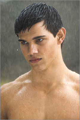 14. Admiration for the healthy bodies of Taylor Lautner and the wolf pack.