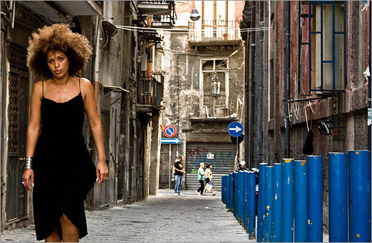 john turturro filmed singers such as mbarka ben taleb performing in different settings in