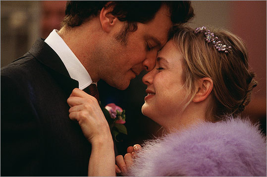 The namesake diary in 2001's 'Bridget Jones's Diary' appears to cost Jones (Renee Zellweger) a New Year's kiss with Mark Darcy (Colin Firth). He flips through the book to discover what she has written about him during their up-and-down dealings. Of course, New Year's Eve is a chance for a 'fresh start,' as he remarks, and the two get off on the right foot with a tender moment.
