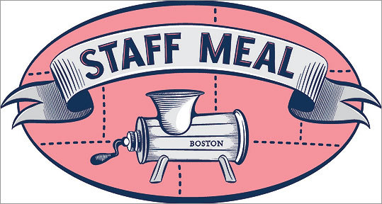 Staff Meal Another food-truck standout, Staff Meal is the brainchild of former fine-dining chefs. The experience shows. Just check out sandwiches of such foodstuffs as foie gras and pigs&#146; ears. staffmealboston.com