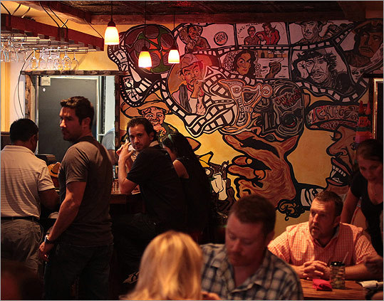 El Centro After a string of Mexican eateries opened last spring, the South End welcomed what is perhaps the most authentic: El Centro from Sonoran-born owner Allan Rodriguez. Using a stash of his own family's recipes, he's turning out a tiny taste of his homeland with dishes like pollo al mole and carne asada. 472 Shawmut Avenue, Boston, 617-262-5708