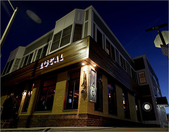 Local 149 Last spring, Southie got its own version of the British gastropub with the opening of Local 149. A massive bar, usually populated by sports nuts, anchors the room, while banquettes and cafe tables make it comfortable for families. Dishes like fried chicken and waffles and a pressed duck club sandwich show the owners are out to improve on the neighborhood's usual pub grub. 149 P Street, South Boston, 617-269-0900, local149.com Video: Phantom Gourmet's take on Local 149