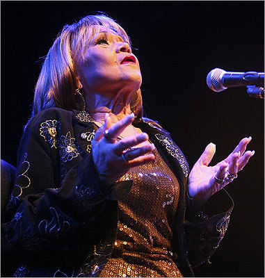 James made her most recent appearance in Boston on May 8, 2009, at the House of Blues.