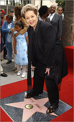 On April 18, 2003, James was honored with a star on the Hollywood Walk of Fame. She also received a Grammy Lifetime Achievement Award that year.