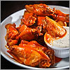 Buffalo wings in Boston