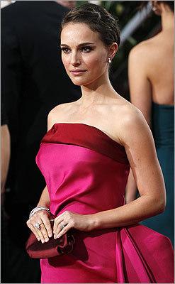 Natalie Portman showed off her bright side.