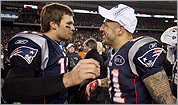 Tom Brady and Aaron Hernandez